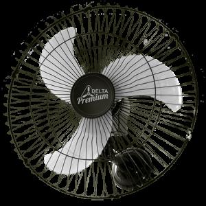 Ventilador de Parede Oscilante 60cm Preto Premium Venti Delta