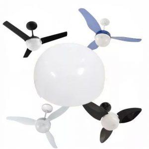 Lustre Para Ventiladores Smart/Geo/Alisclean Aliseu